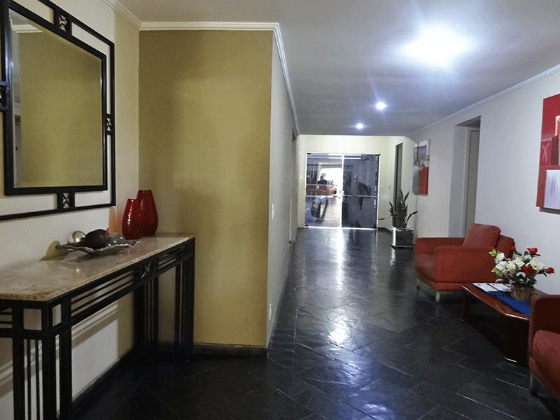 Cursino, Cobertura Duplex-Hall de entrada