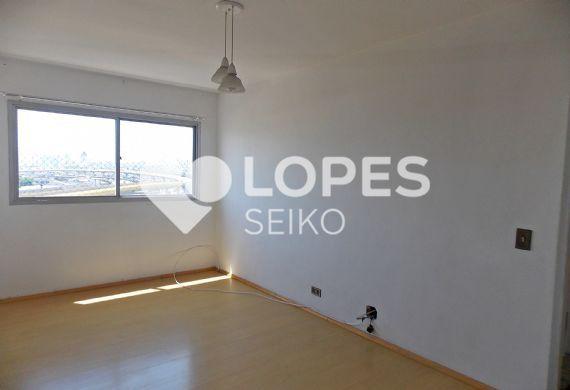 Ipiranga, Apartamento Padrão - Sala em L com dois ambientes e piso laminado