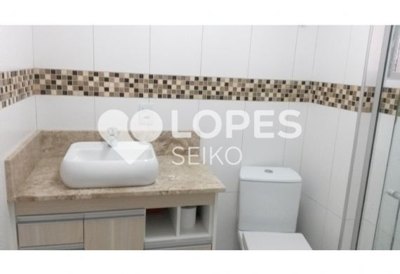Apartamento 2 dormitórios na Avenida MUZAMBINHO  Jabaquara  Seiko Imóveis -> Pia De Banheiro Com Bloco De Vidro