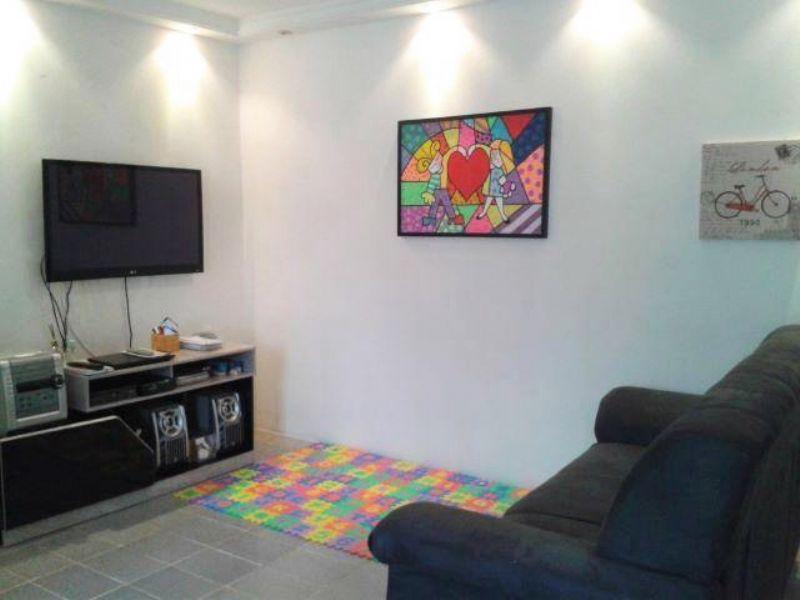 Sacomã, Apartamento Padrão - Sala com piso de cerâmica, teto com moldura de gesso e iluminação embutida.