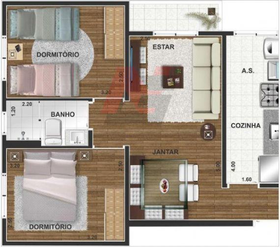 Apartamento à venda, Santa Maria, Osasco