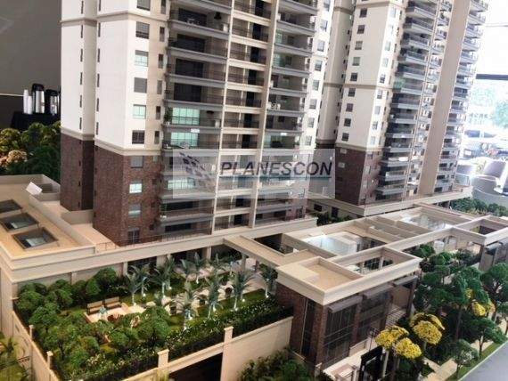 Apartamento à venda, Chácara Santo Antônio, São Paulo