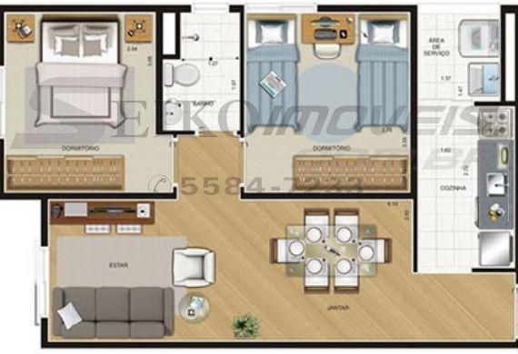 Jabaquara, Apartamento Padrão-Planta 4