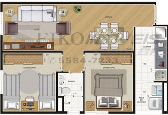 Jabaquara, Apartamento Padrão-Planta 3