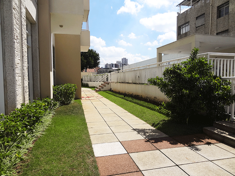 Ipiranga, Apartamento Padrão-Áreas ajardinadas