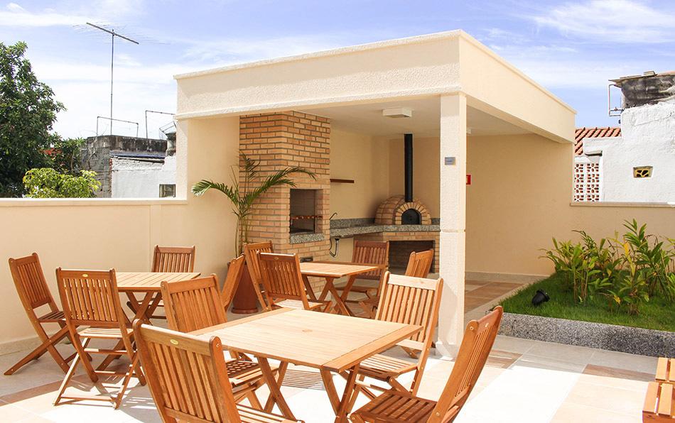 Jabaquara, Apartamento Padrão-Espaço Gourmet com Churrasqueira e Forno de Pizza