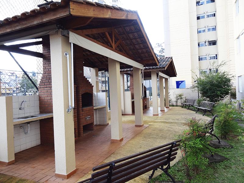 Sacomã, Apartamento Padrão-Churrasqueira.