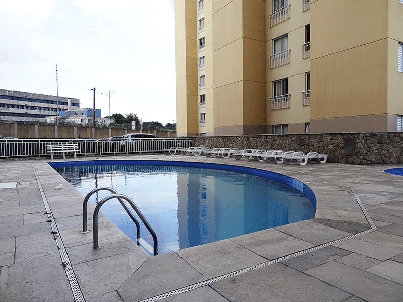 Sacomã, Apartamento Padrão-Piscina adulto.