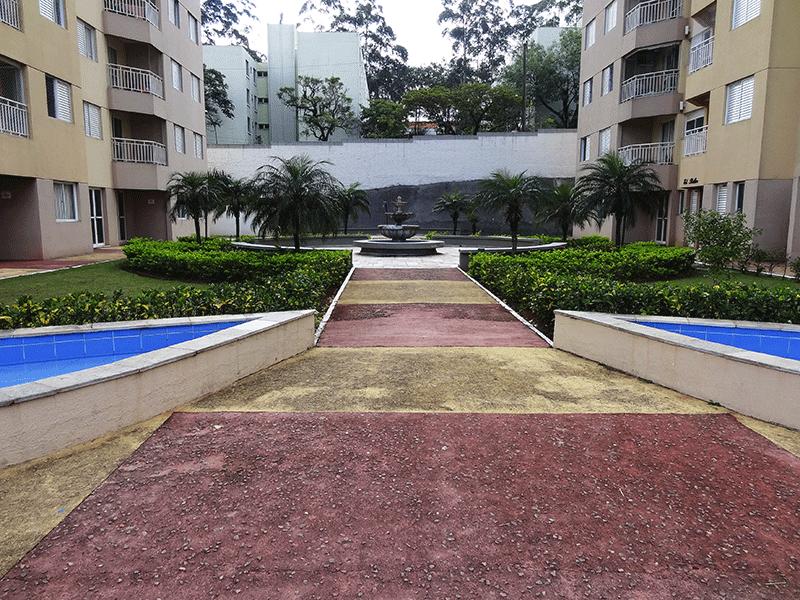 Sacomã, Apartamento Padrão-Áreas ajardinadas.