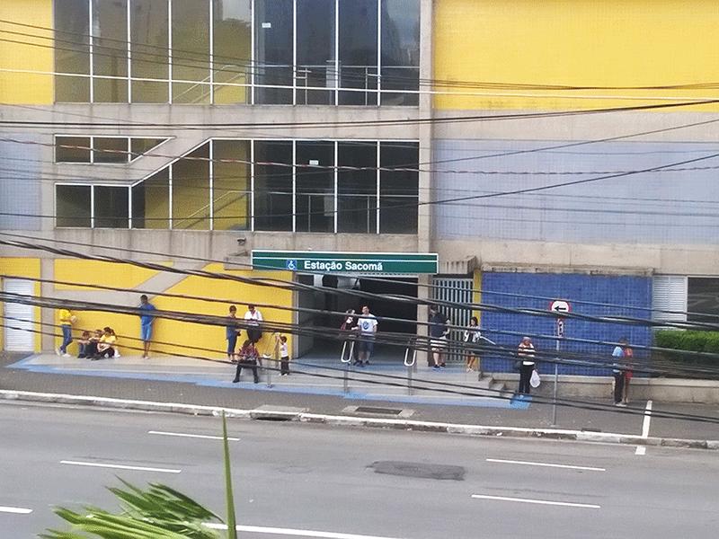 Ipiranga, Apartamento Padrão-Vista para a estação Sacomã.
