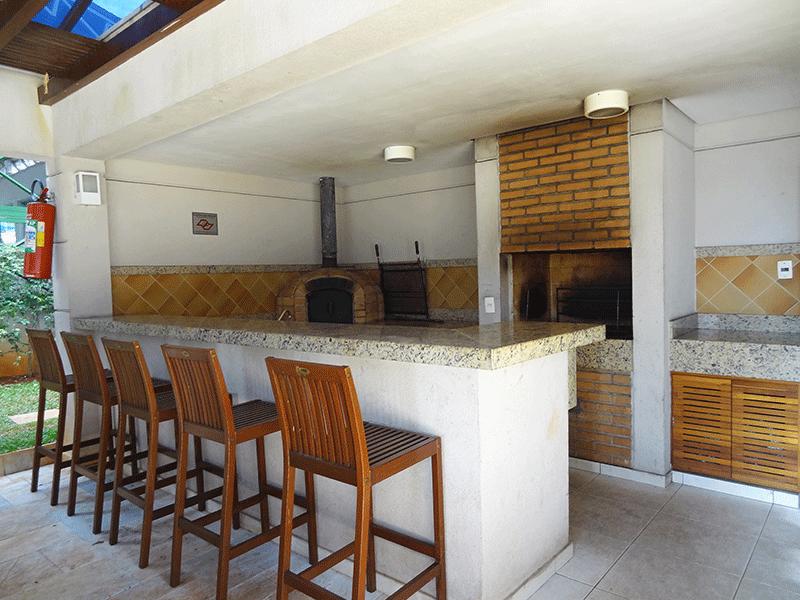 Sacomã, Apartamento Padrão-Churrasqueira