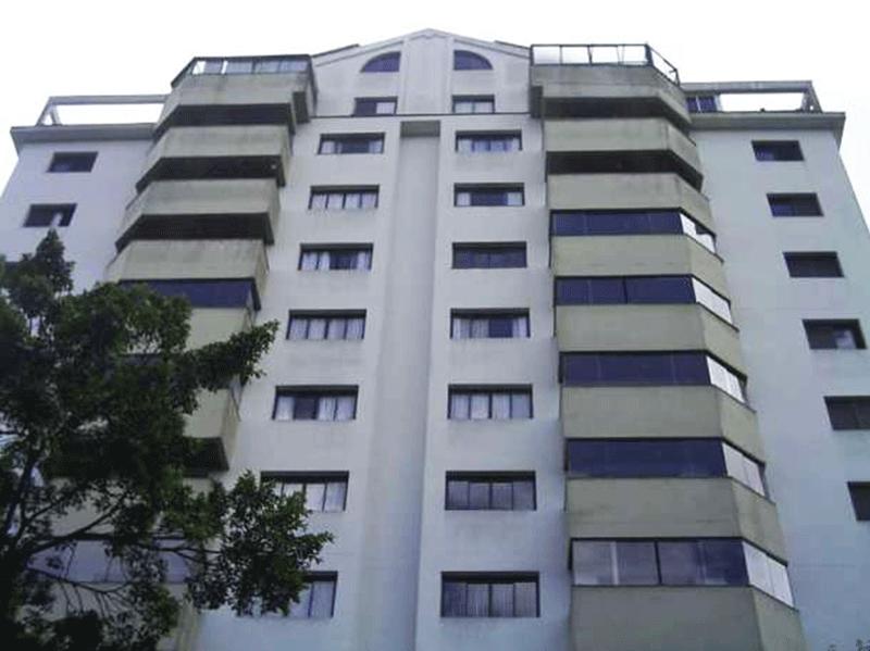Cursino, Apartamento Padrão-Fachada
