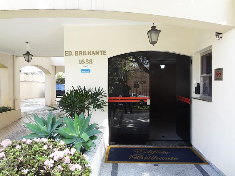 Ipiranga, Apartamento Padrão-Entrada do prédio