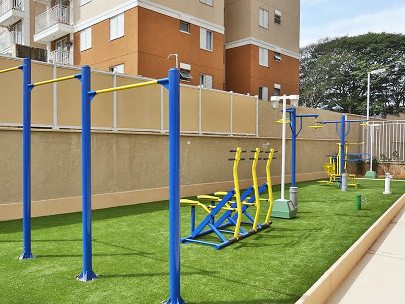 Jabaquara, Apartamento Padrão-Área de ginástica