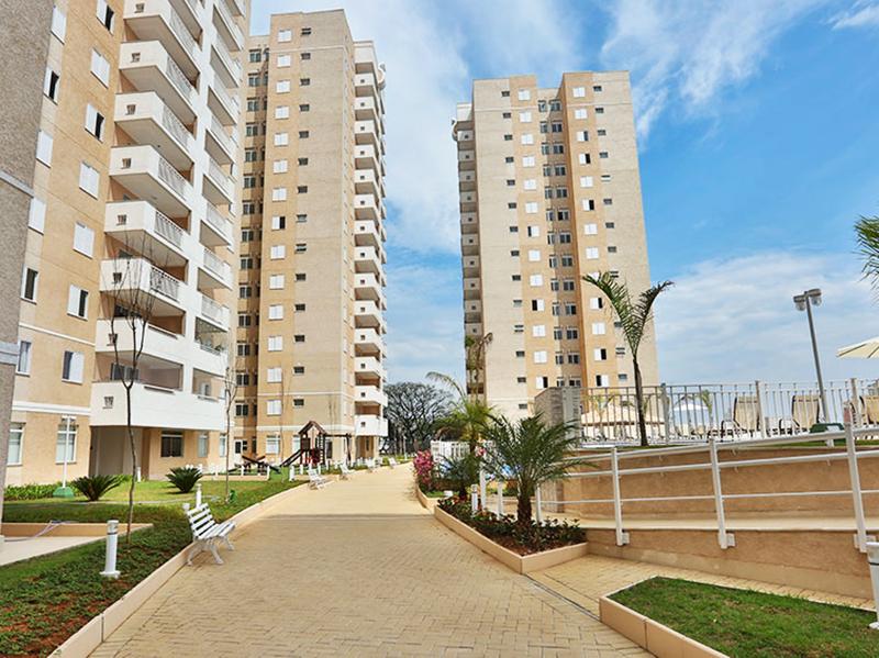 Jabaquara, Apartamento Padrão-Áreas ajardinadas