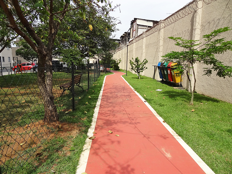 Jabaquara, Apartamento Padrão-Pista de caminhada