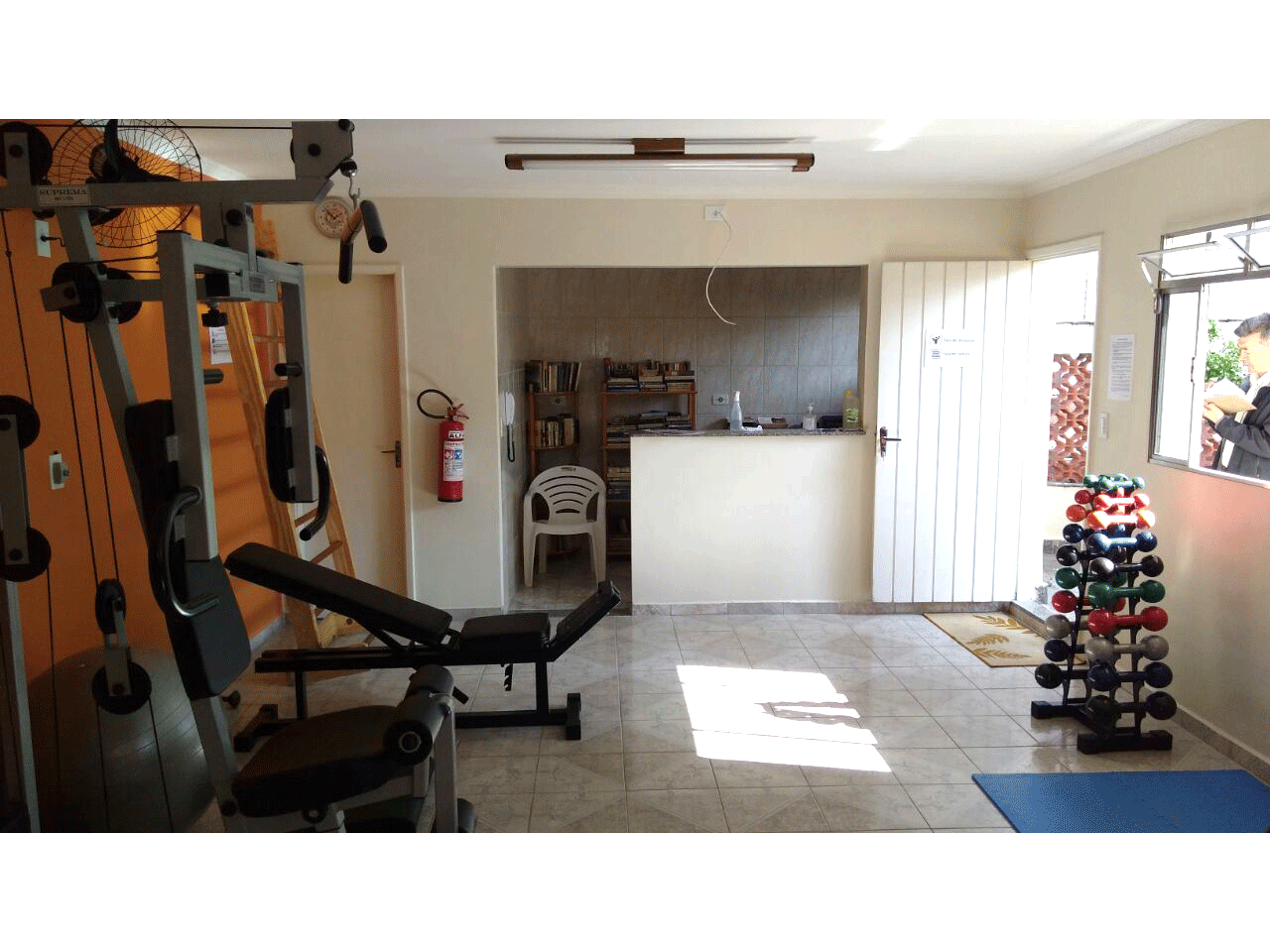 Jabaquara, Apartamento Padrão-Fitness center