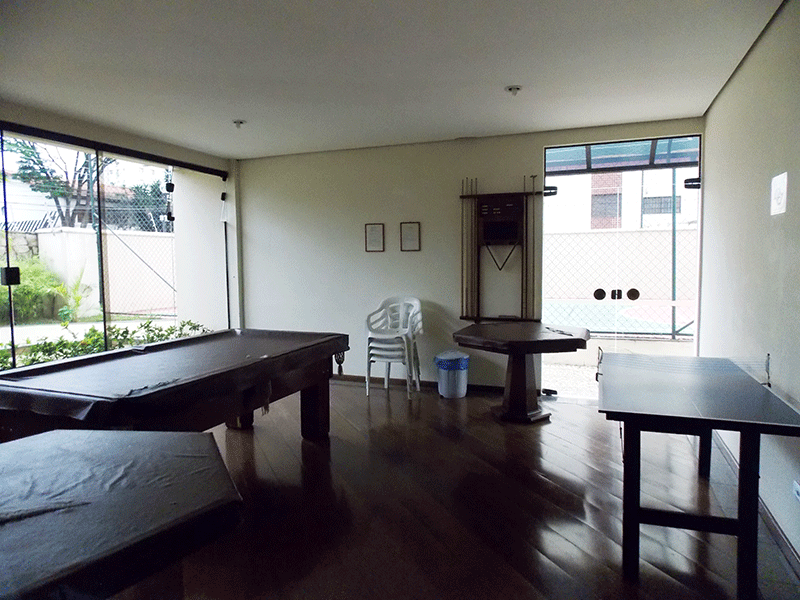 Jabaquara, Apartamento Padrão-Salão de Jogos