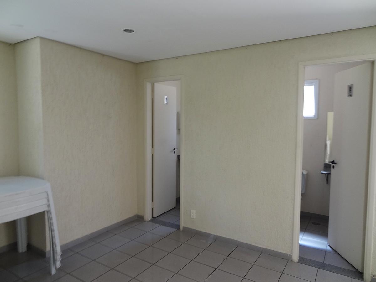 Jabaquara, Apartamento Padrão-Banheiros do salão de festas
