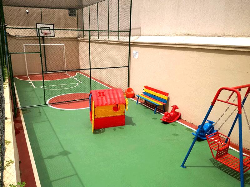 Ipiranga, Apartamento Padrão-Playground e Quadra
