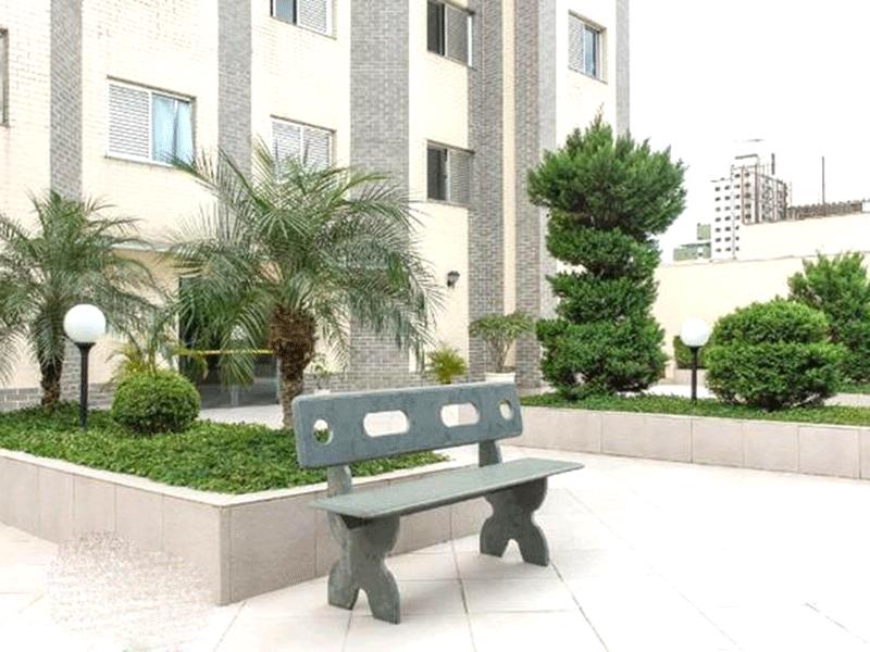 Ipiranga, Apartamento Padrão-Áreas ajardinadas com bancos