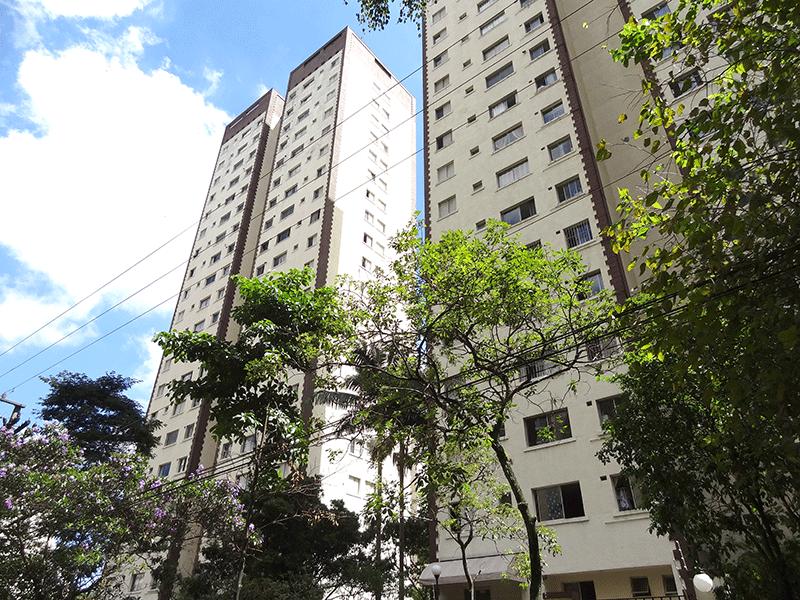 Jabaquara, Apartamento Padrão - Fachada.