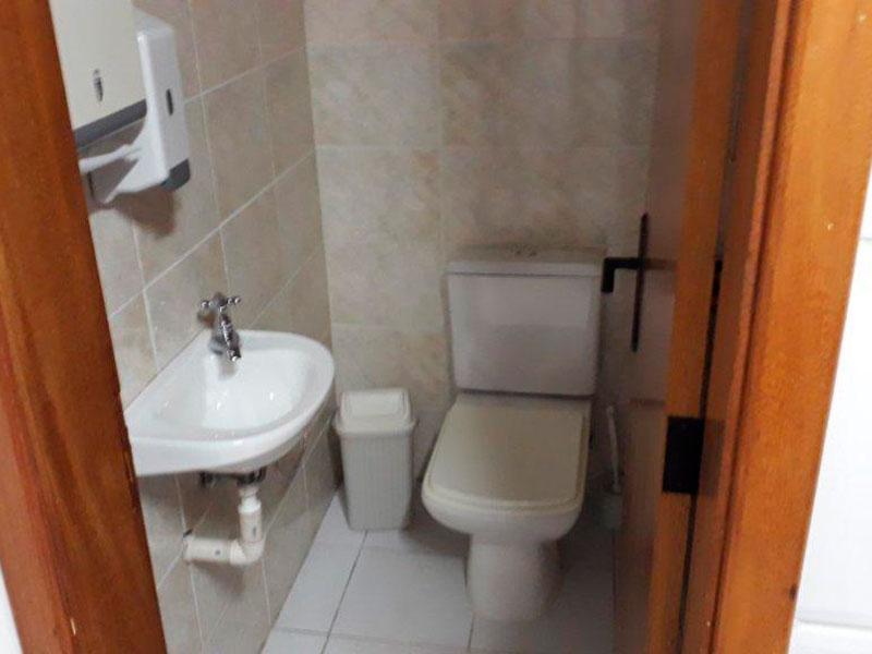Ipiranga, Apartamento Padrão-Banheiro feminino do salão de festa.