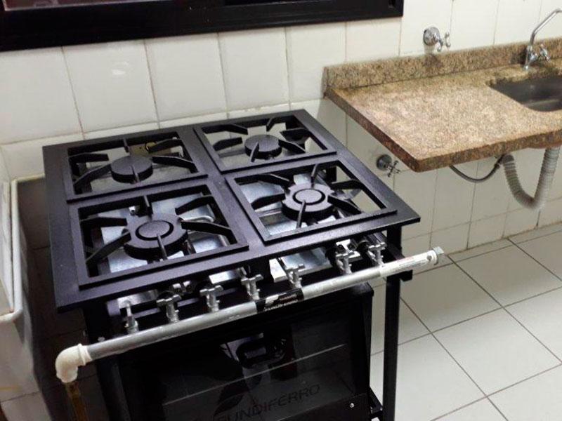 Ipiranga, Apartamento Padrão-Cozinha do salão de festa.