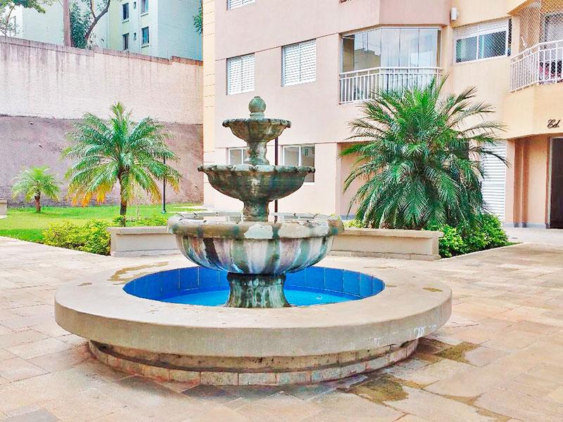 Sacomã, Apartamento Padrão-Área externa.