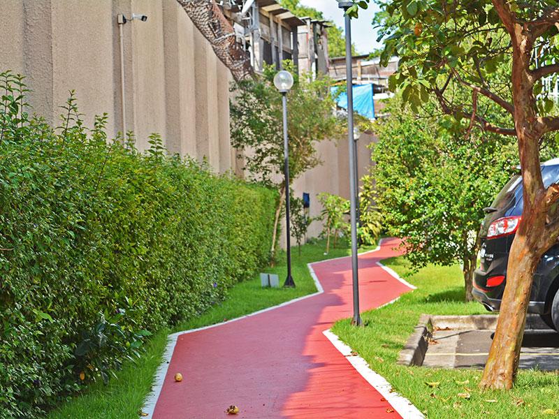 Jabaquara, Apartamento Padrão-Pista de caminhada.