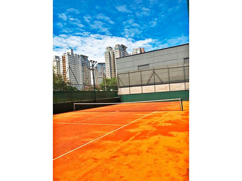 Ipiranga, Apartamento Padrão-Quadra de tênis.