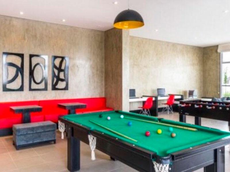 Ipiranga, Cobertura Penthouse-Salão de jogos.