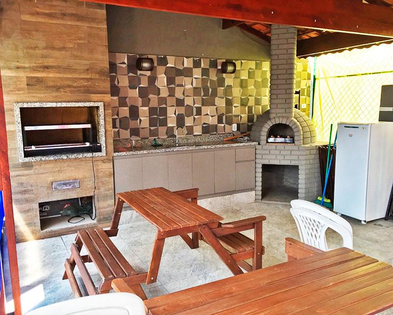 Sacomã, Apartamento Garden-Área gourmet.