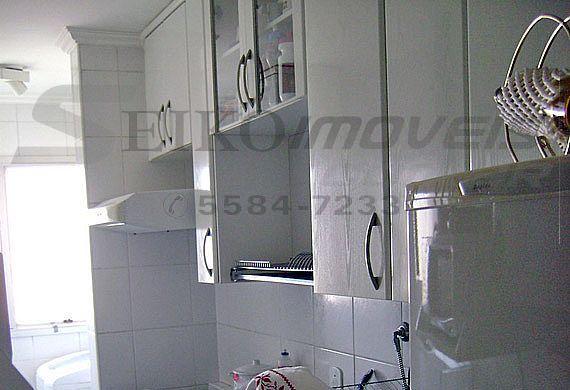 Sacomã, Cobertura Duplex-Cozinha planejada com pia de granito
