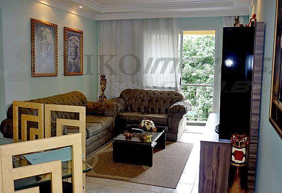 Sacomã, Apartamento Padrão - Sala retangular com sanca e iluminação indireta