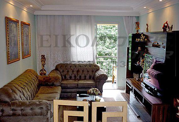 Sacomã, Apartamento Padrão-Sala de estar com varanda