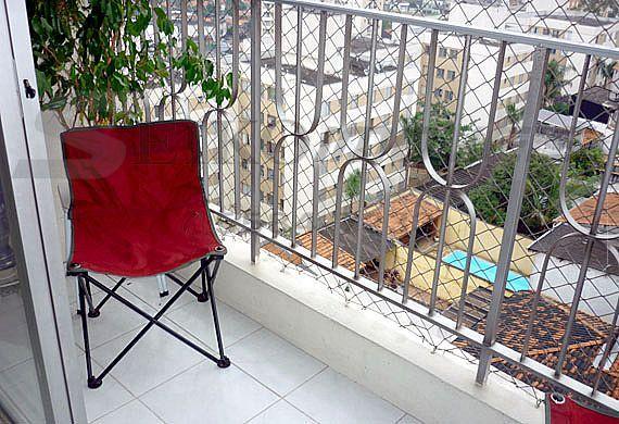 Jabaquara, Apartamento Padrão-Varanda com gradil