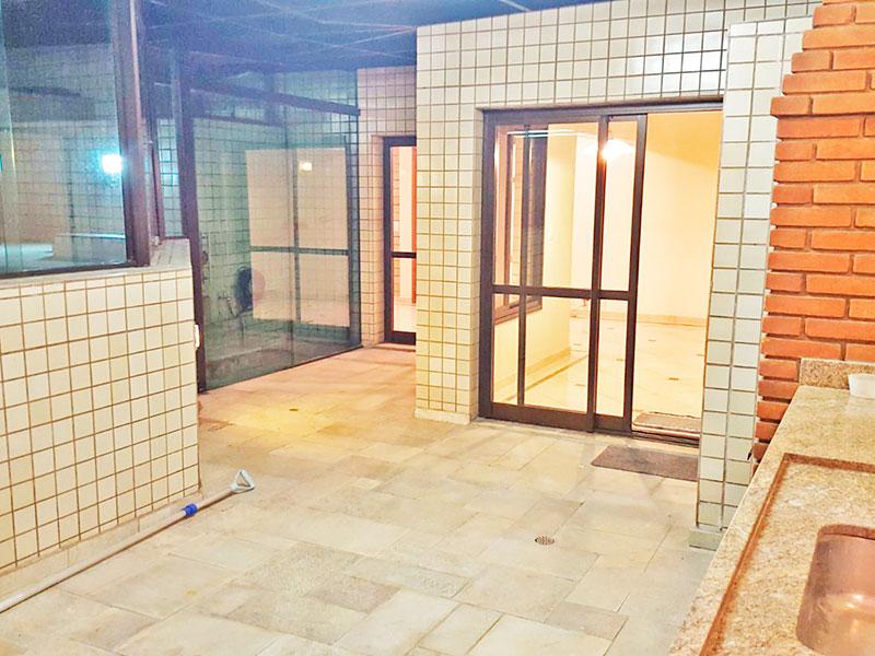 Jabaquara, Cobertura Duplex-Área de lazer.