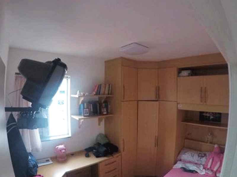 Sacomã, Apartamento Padrão-3º dormitório com armários planejados.