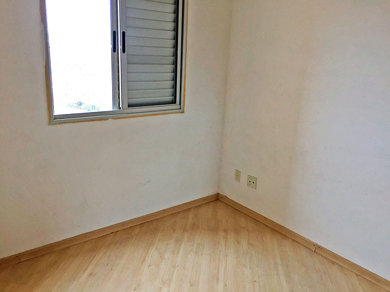 Jabaquara, Apartamento Padrão-2º Quarto com piso laminado.