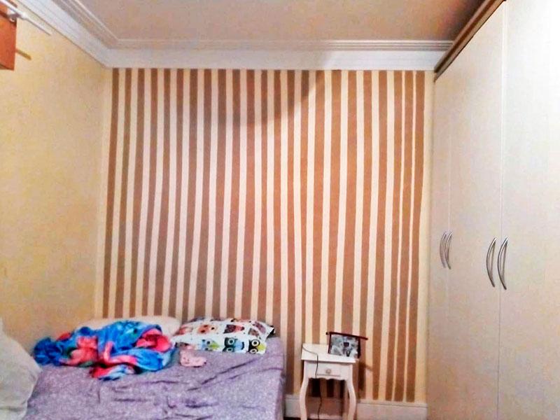 Ipiranga, Apartamento Padrão-1º Quarto com piso de taco.
