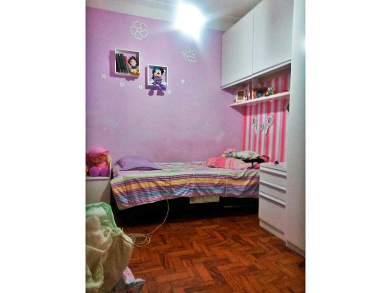 Ipiranga, Apartamento Padrão-2º Quarto com piso de taco.