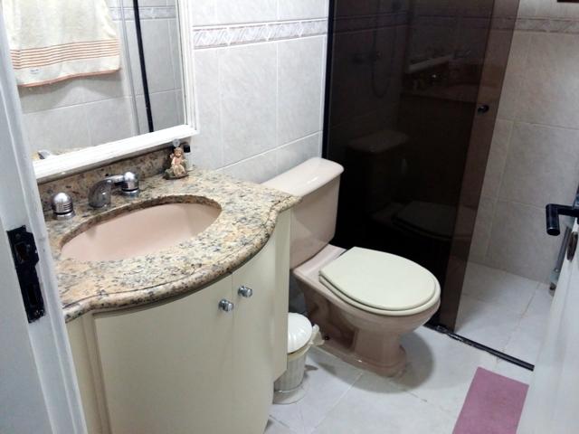 Sacomã, Apartamento Padrão-Banheiro social com aquecedor e ducha