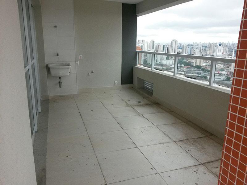Ipiranga, Cobertura Penthouse-Área de serviço com piso de cerâmica.