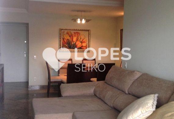 Sacomã, Apartamento Padrão - Sala em L com dois ambientes, piso de granito e moldura de gesso