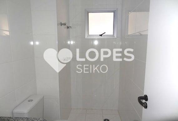 Sacomã, Apartamento Padrão-Banheiro social com pia de granito