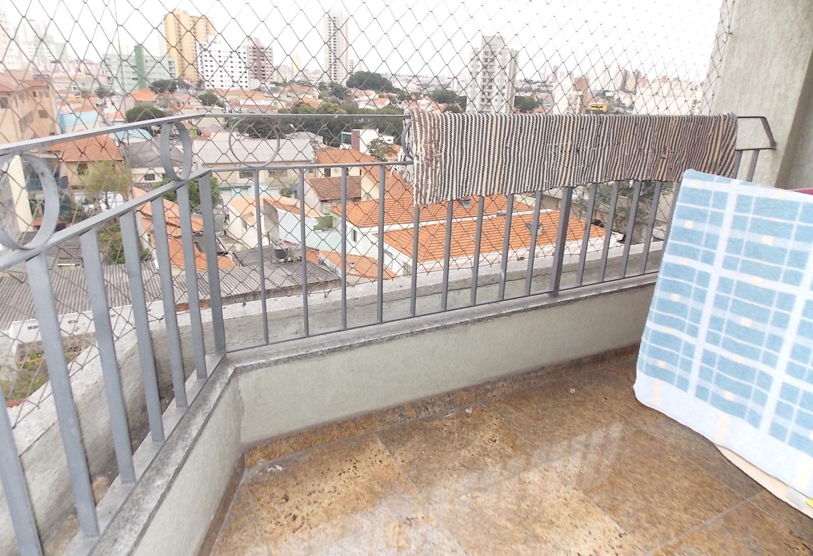 Sacomã, Apartamento Padrão-SACADA COM TELA DE PROTEÇÃO E GUARDA-CORPO