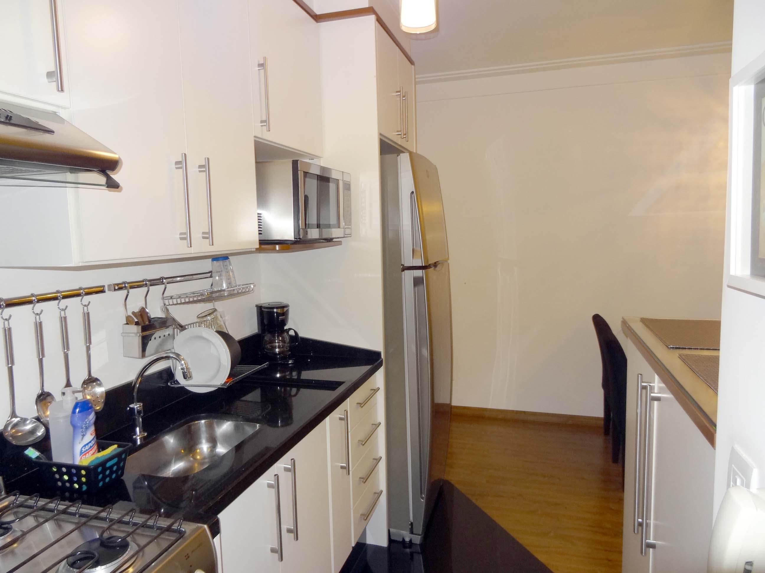 Cozinha Americana Apartamento Pequeno Granito Cozinha Americana Une