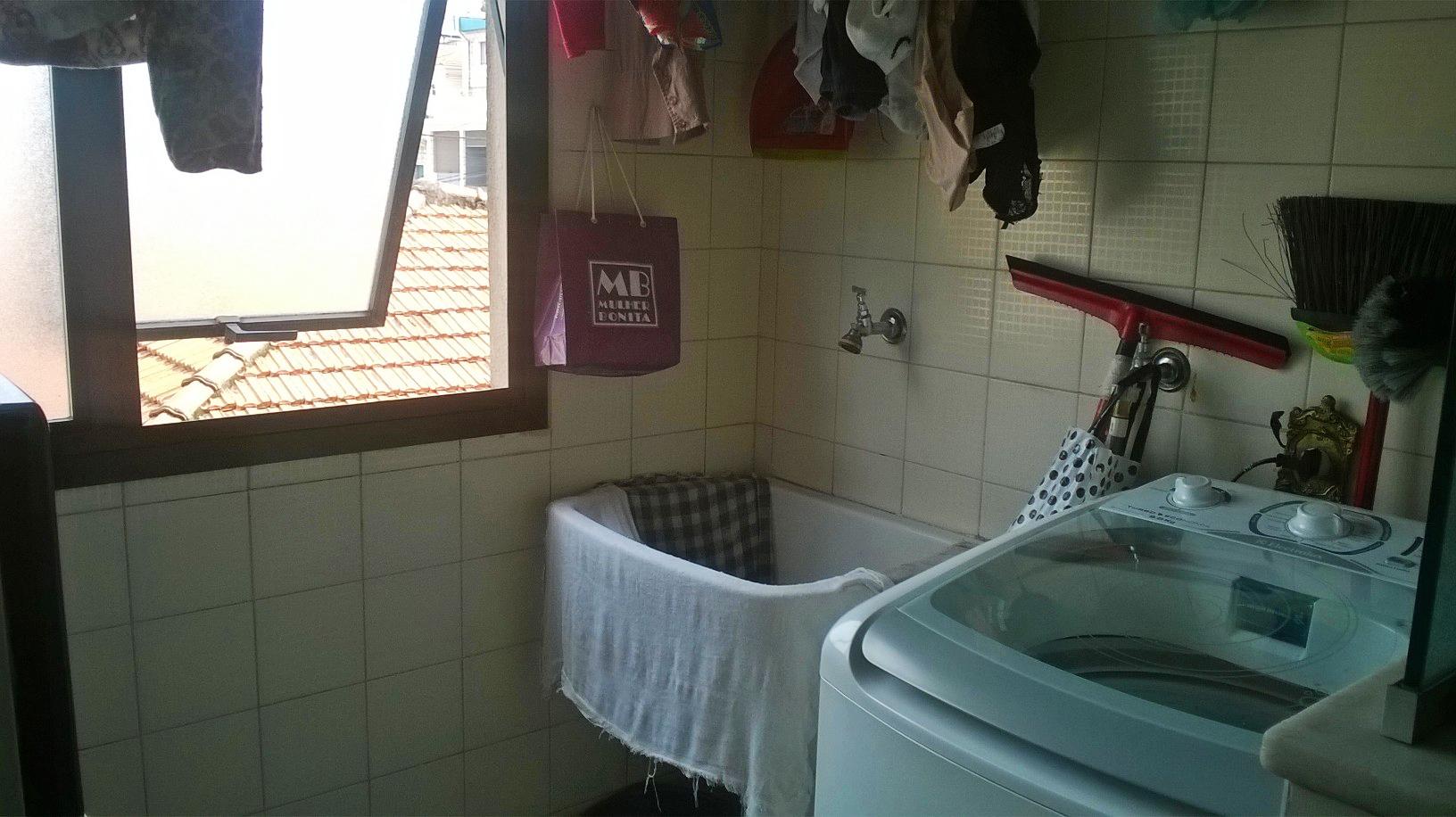 Jabaquara, Apartamento Padrão-Área de serviço com piso de cerâmica e janela