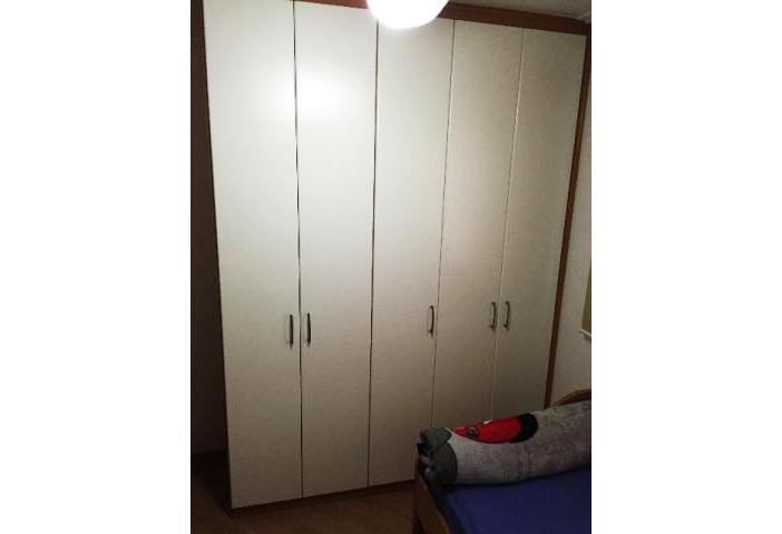 Jabaquara, Apartamento Padrão-Segundo e terceiro dormitório com piso laminado, teto com moldura de gesso e armários planejados